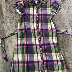 Girls' Gymboree Plaid Dress Size 8